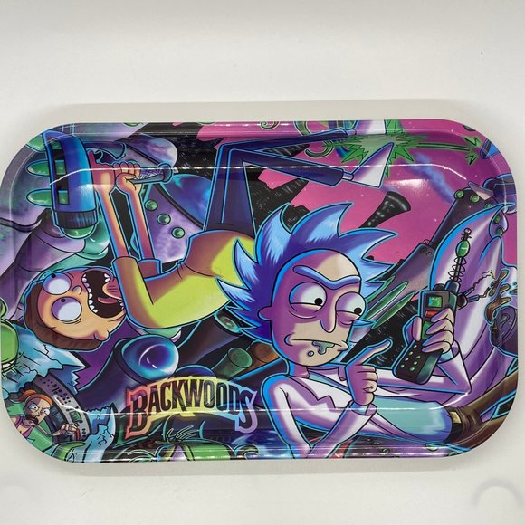"""Other - Rick and Morty Rolling Tray 7 X 11"""""""